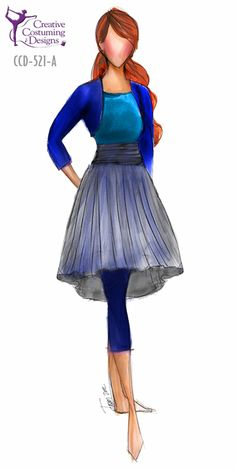 I can see this being a costume for Anna from Disney's Frozen. Maybe have a pink jacket instead of blue