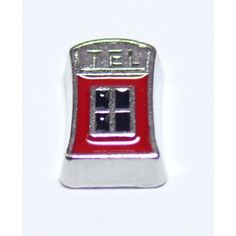Telephone Booth Locket Charm that fits brands including Origami Owl & My Journey Locket. Enamel Telephone Booth on zinc alloy. Great looking charms that don't cost a fortune.