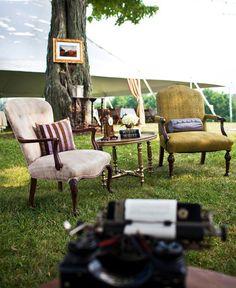 Vintage lounge area1