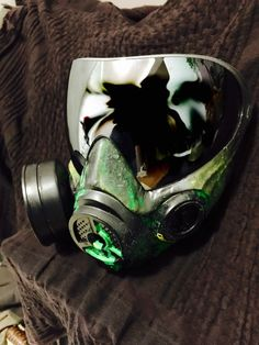 Custom i4 Gas Mask Paintball  by BONESm4sk on Etsy https://www.etsy.com/listing/229808937/custom-i4-gas-mask-paintball