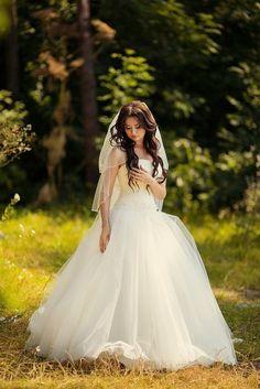 """wedding dress """"Оливия"""" Невеста Юлия в платье из коллекции 2014"""