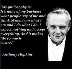 I like this philosophy from a true great.