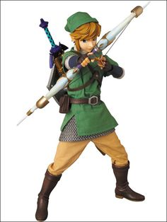 Medicom figure. Loz: Skyward Sword, Link