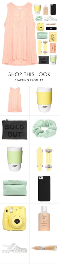 """take me back to the middle of nowhere"" by seoul-searching ❤ liked on Polyvore featuring Splendid, ROOM COPENHAGEN, Zara, Accessorize, Marie Turnor, Fujifilm, Fresh, JuJu, Davines and NIKE"