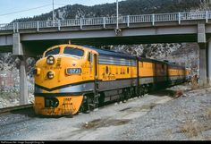 RailPictures.Net Photo: D&RGW 5771 Denver & Rio Grande Western Railroad EMD F9(A) at Glenwood Springs, Colorado by Doug Lilly