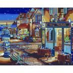 Plaid Paint by Number 16 in. x 20 in. 24-Color Kit Starry Night Paint by Number