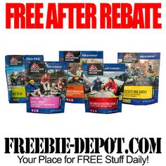 ►► FREE AFTER REBATE - Mountain House Adventure Food Pouch - FREE Emergency…