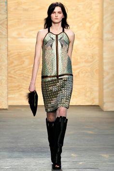 Proenza Schouler RTW A/W 2012/13.  Model - Katlin Aas.