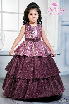 Kids Party Wear Dresses, Wedding Dresses For Kids, Kids Dress Wear, Stylish Dresses For Girls, Gowns For Girls, Frocks For Girls, Fancy Dress, Baby Frocks Designs, Kids Frocks Design