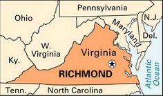 Once the capital of the Confederacy, Richmond is the capital of Virginia and the seat of Henrico County. Its gracious homes and its museums reflect a rich history dating from the early 18th century. Richmond is located at the head of navigation of the James River in eastern Virginia.