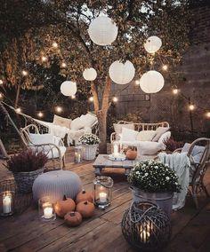 30 Modern Bohemian Garden Design ideas For Backyard Outdoor Rooms, Outdoor Living, Small Outdoor Spaces, Patio Design, House Design, Balcony Design, Roof Terrace Design, Small Garden Design, Aesthetic Rooms