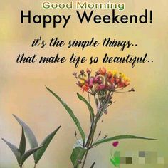 10 Best Good Morning Happy Weekend Images Good Morning Quotes
