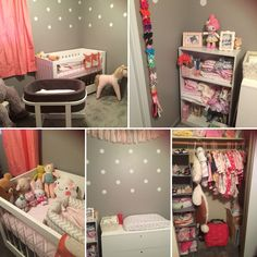 Girl explosion dream nursery