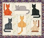 "Photo from album ""Blocks for patchwork"" on Yandex.Disk- Blocks for patchwork - Cat Quilt Patterns, Paper Piecing Patterns, Patchwork Patterns, Dog Quilts, Animal Quilts, Barn Quilts, Quilting Projects, Quilting Designs, Animal Gato"