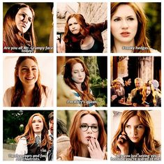 Amy Pond: she is one of the most sassy companion of The Doctor!