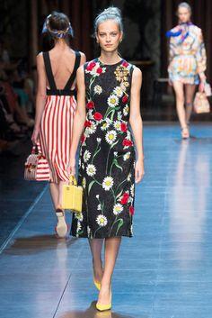 2016春夏プレタポルテコレクション - ドルチェ&ガッバーナ(DOLCE&GABBANA)ランウェイ コレクション(ファッションショー) VOGUE