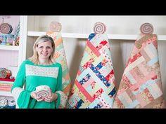 Jelly Roll Jam II - Shortcut Quilt Series - Fat Quarter Shop - YouTube