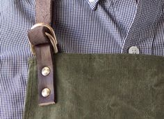 Makers Apron - Made from a repurposed military tent!