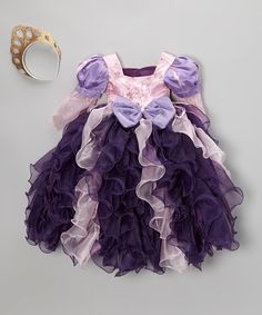 Take a look at this Purple & Pink Princess Dress-Up Set - Toddler & Girls by Bijan Kids on #zulily today!