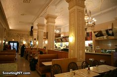The Fanciest Diner In New York: The Polish Tea Room of Times Square « Scouting NY.   Cafe Edison