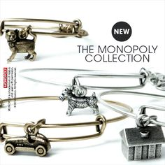 Alex and Ani  - The Monopoly Collection ... A car empowers an individual, providing the key to adventure and a newfound freedom with the ability to travel to any place at any time. It is a steady symbol of protection on a road that can be challenging and difficult to navigate. Embark on a new journey with the MONOPOLY Car Charm and face new possibilities on the track set before you.