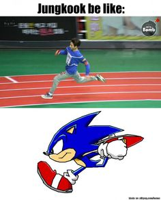 Running from Jimin be like:   allkpop Meme Center