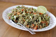 Mexican Quinoa Salad - Craving Greens