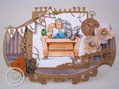 6410/0093 Noor! Design Clear stempels Grunge door Janet Blaauw