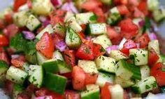 Chopped Veggie Salad-This recipe is quick, crisp, and refreshing!  Healthy weight loss recipes brought to you from Go Figure Medical Weight Loss Center in Bozeman, MT. #GoFigureMedicalWeightLossCenter