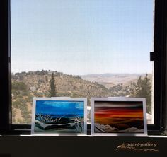 5-Art gallery -View - Transparent Oil paintings On Acrylic Sheets