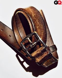 "The Best Worn-In Accessories for Men: Wear It Now: GQ Hermes Etriviere 32 Belt  ""Worn in, Not Out"""
