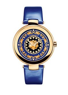 Versace - Mystique Foulard bleu