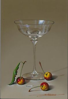 Javier Mulio painting by Javier Mulio Born 1957 painting by Javier Mulio STILL LIFE WITH CHERRIES painting by Javier Mulio Stock code: S4184 Signed Oil on Panel 11⅞ x 7⅞ inches / 30.2 x 20 cms Price category: A: Under £5,000