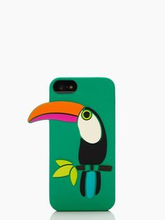 Toucan phone case for when I eventually break down and get the iphone 5