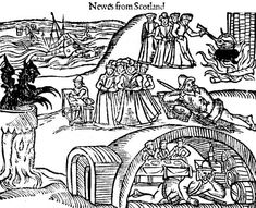 Illustration from a Scottish newspaper during the Witch Hunt era. from Witch Hunts in Scotland: Scottish Witch Isobel Gowdie and King James' Role in Witch Trials by Carolyn Emerick. Click the picture to read :-) www.carolynemerick.com