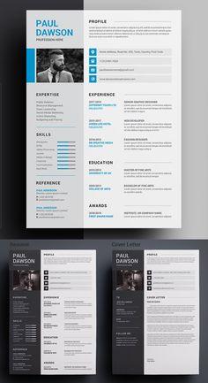 Invoice Design Template, One Page Resume Template, Letterhead Design, Modern Resume Template, Resume Templates, Cv Template, Print Templates, Brochure Design, Cv Inspiration