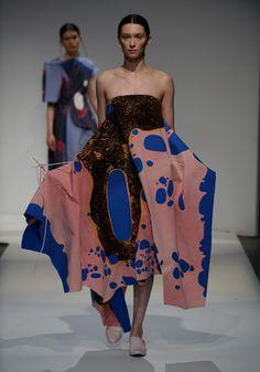 London College of Fashion BA 2015 Catherine Wang Camila Lopes