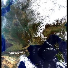 Space in Images - 2002 - 04 - France – MERIS – 24 March 2002