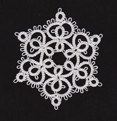 Quiltification: tatting snowflakes