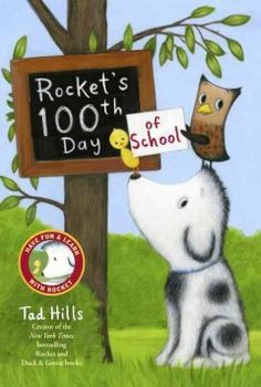Rocket the dog is excited about the 100th day of school and enlists the help of his friends to collect one hundred special things to bring to class, from heart-shaped stones found with Mr. Barker to feathers Owl provides, but will he find enough items in time?