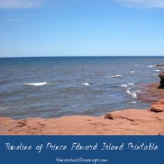 FREE Timeline of Prince Edward Island History Printable Make A Timeline, History Timeline, Canadian History, Native American History, The Big Read, Teaching Geography, Prince Edward Island, Anne Of Green Gables, Picture Design