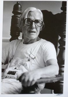 Nico Koster - Willem de Kooning in his studio, ca 1979 x 20 cm De Kooning Paintings, Oil Paintings, Mondrian Art, Expressionist Artists, Abstract Expressionism, Lisbeth Zwerger, Barnett Newman, Brothers In Arms, Willem De Kooning