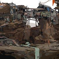 ArtStation - Goliath Shanty Town, Samuel Youn