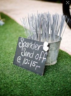 Sparkler send off, great for any occasion!!