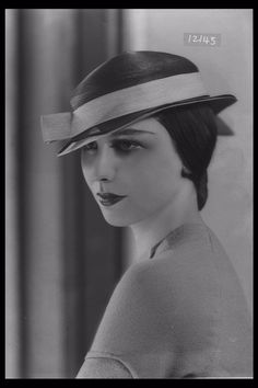 Image of a woman modelling a hat for the department store Fenwicks. Published in Illustrated Sporting & Dramatic News.    Maker:  Bassano Studio  Production Date:  1934-01-01