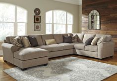 Pantomine 4-Piece Sectional w/ Chaise