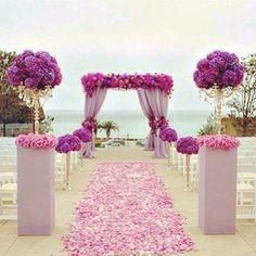 Oh! Isn't it just nice to have a good decor for the ceremony such as these?
