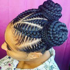 25 Must-Have Goddess Braids Hairstyles StylesRant Feed In Braids Hairstyles, Braids Hairstyles Pictures, Black Girl Braided Hairstyles, Natural Hair Hairstyles, Korean Hairstyles, Goddess Hairstyles, Protective Hairstyles, Wedding Hairstyles, Goddess Braid Ponytail