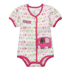 24ebdd27a3f2 Carter s spring summer cotton kids baby girl infant short sleeve triangle  rompers thoracotomy jumpsuits bodysuit elephant