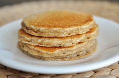 famous overnight oatmeal cinnamon pancakes